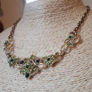 Faux Emerald Costume Jewlery